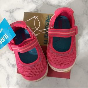 NWT Stride Rite Pink Petula Mary Jane Shoes Sz 3